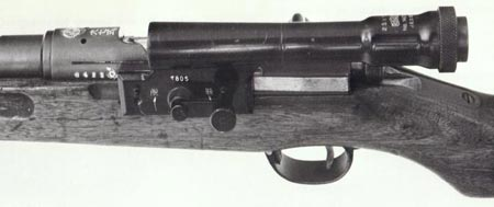 крепление прицела винтовки Type 97