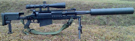 OM 50 Nemesis Mk III с глушителем