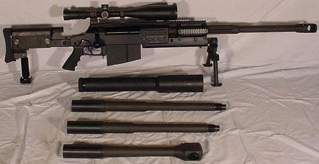 OM 50 Nemesis Mk III с комплектом стволов