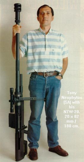 Тони Неофиту с NTW-20