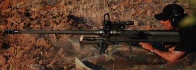 NTW-20 при стрельбе