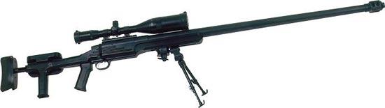 Truvelo .50 BMG однозарядный вариант