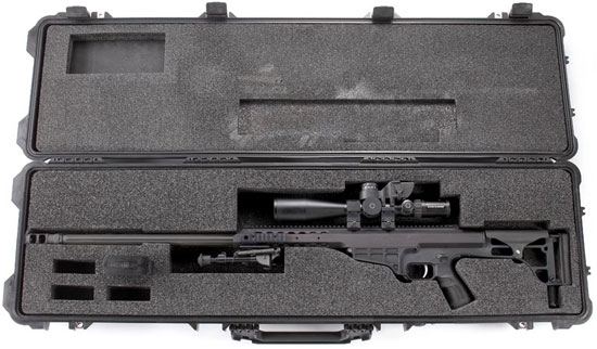 Barrett 98B в контейнере для транспортирования