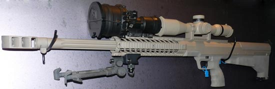 Снайперская винтовка HTI