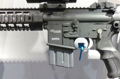 вид на элементы управления SIG 516