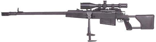 М-93 Black Arrow / Crna Strela в варианте с калибром 12.7х108