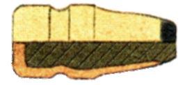 KTF (Kupfer Teilmantel Flachkopf)