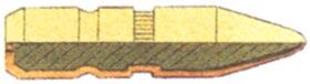 VMS (Vollmantel spitz)