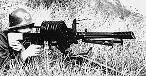 Ранний вариант китайского 35-мм автоматического гранатомета W87 с барабанным магазином