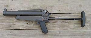 Германский 40мм однозарядный гранатомет HK69