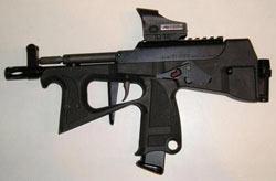 Современный пистолет-пулемет ПП-2000 (Россия)
