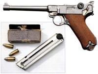 Люггер (Самозарядный пистолет образца 1904 г.)