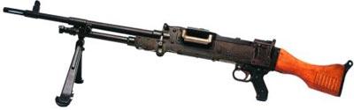 Бельгийский единый пулемет FN MAG в варианте ручного пулемета