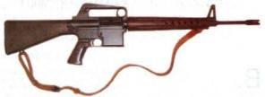 рис. 2 Штурмовая винтовка AR-10 конструкции Ю. Стоунера образца 1954 года
