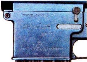 рис. 4 Маркировка на ресивере AR-10 голландского производства