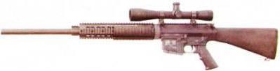 рис. 12. Цевье SR-25 RAS Free Floating Barrel