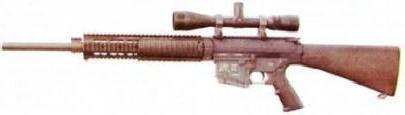 рис. 14. Спортивно-целевая винтовка SR-25 LMR