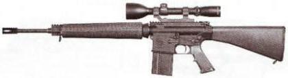 рис. 4. Винтовка AR-10A4 SPR