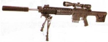 рис. 7. Снайперская винтовка AR-10 SuperSASS