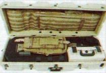 Складной снайперский чехол-мат, закрепленный на крышке транспортного контейнера