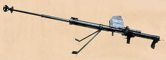 Рис. 3. Опытное 14,5-мм ПТР Владимирова, первый вариант. ЦКБ-2, г. Ковров, 1938 г.
