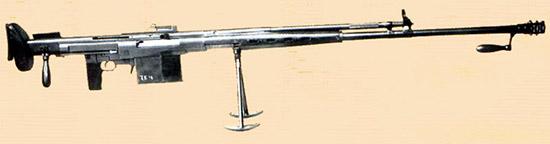 Рис. 8, БаС-2 – опытное 14,5-мм ПТР Бачина-Светличного. Завод №74, г. Ижевск, 1940 г.
