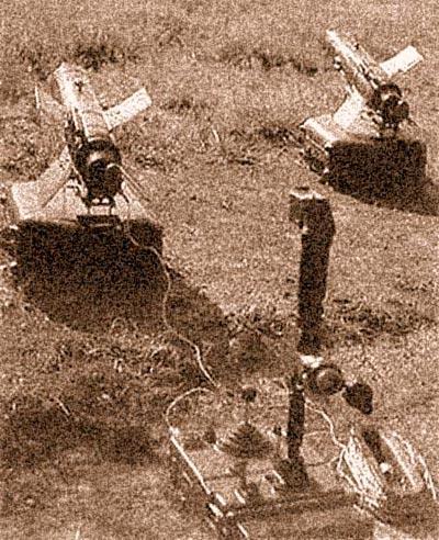 ПТРК 9К14 «Малютка» в боевом положении