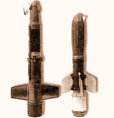 ПТУРС «Фагот» (справа) и его франко-западногерманский аналог «Милан»