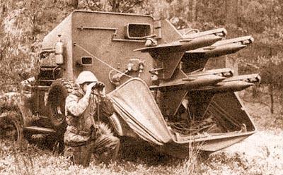 ПТРК «Шмель», размещенный на шасси автомобиля УАЗ-69