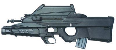 5,56-мм штурмовая винтовка FN Р 2000 с 40-мм подствольным гранатометом