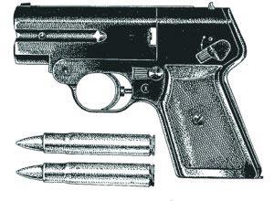 7,62-мм бесшумный пистолет С4М с патронами