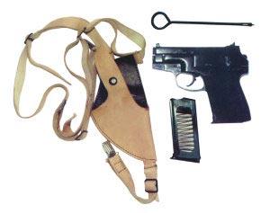 Комплект бесшумного пистолета ПСС