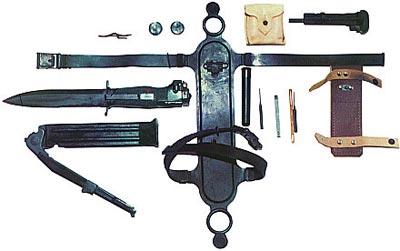 Комплект ножа разведчика стреляющего НРС-2