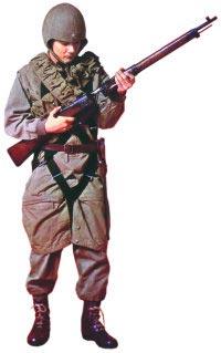 Японский десантник с винтовкой «Арисака» «тип 02» для ВДВ