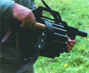 Заряжание гладкоствольного револьверного ружья RGA-86