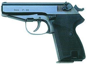 9-мм пистолет «Ванад» wz.83 (Р-83)