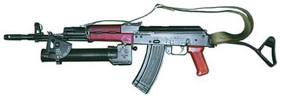 5,45-мм автомат Калашникова Кbk wz.88 «TANTAL» с подствольным гранатометом Kbk-g wz.1974 «PALLAD»