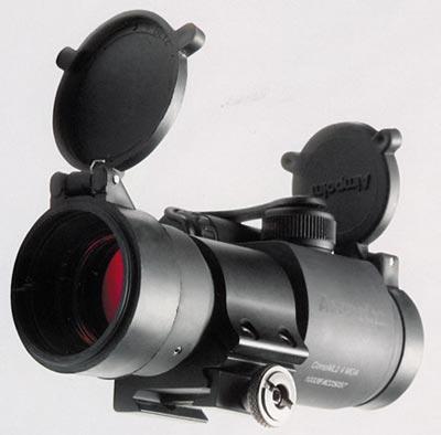 Коллиматорный оптический прицел «закрытого» типа «красная точка» CompMil 24 MOA фирмы Aimpoint