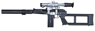 9-мм винтовочный снайперский комплекс «ВСК-94»