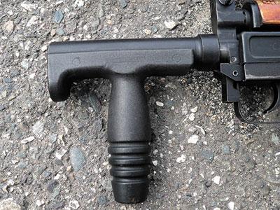 Надульник со вспомогательной передней рукояткой малогабаритного автомата ОЦ-14–4 А-02