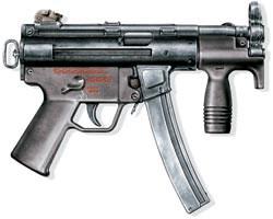 Малогабаритный пистолет-пулемет МР5К «хеклер унд кох», ФРГ, 1976 г.