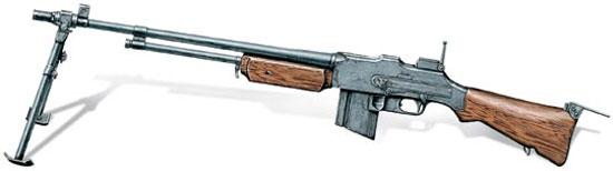 Ручной пулемет М1918А2 BAR, США, 1941 г.