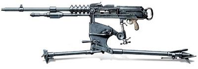 Станковый пулемет Mle1914 «Гочкис», Франция
