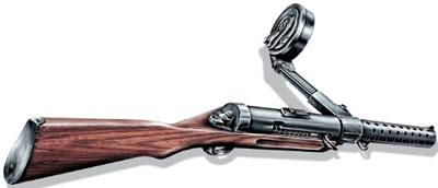 Пистолет-пулемет MP.18/I «Бергман»