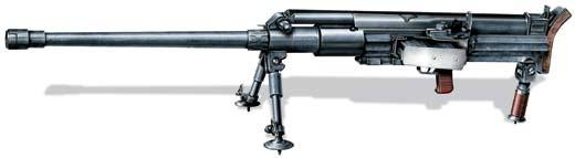 Противотанковое ружье Pz.B.41 (S-18/1000 «Золотурн»), Швейцария/Германия, 1941 год