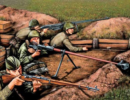 Пехота против танков