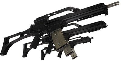 Семейство штурмовых винтовок G.36