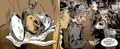 Появление унитарных патронов позволило разместить стреляющие приспособления и в корпусе карманных часов. На них прежде всего покусится грабитель. И из них же получит пулю.