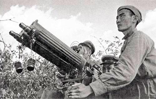 Самый знаменитый пулемет: пулемет Максима