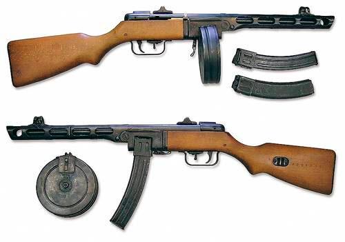 Самое легендарное оружие ВОВ: 7,62-мм пистолет-пулемет Шпагина